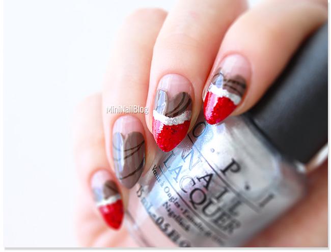 Valentines Nails Heart