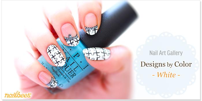 White Nail Designs Title