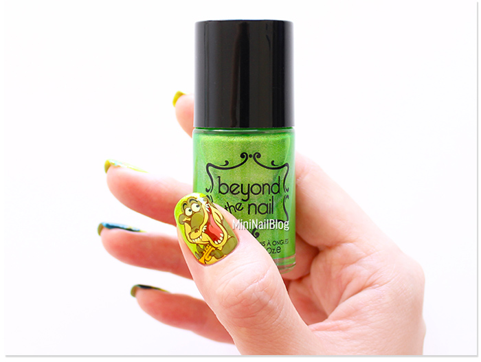 The Princess and The Frog Louis Nail Art