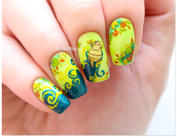 The Princess and The Frog Louis Nails