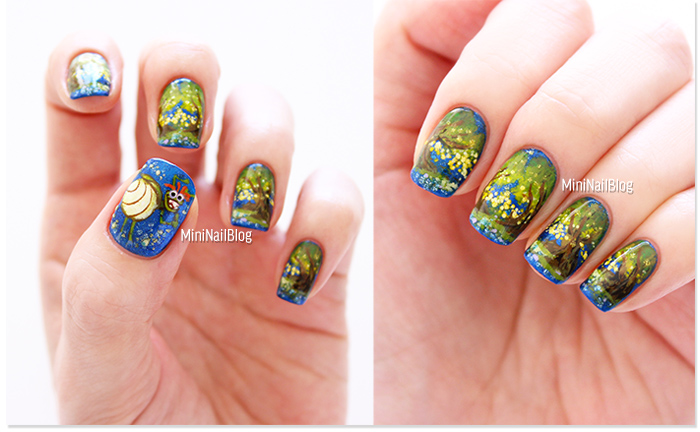 The Princess and The Frog Ray Nails