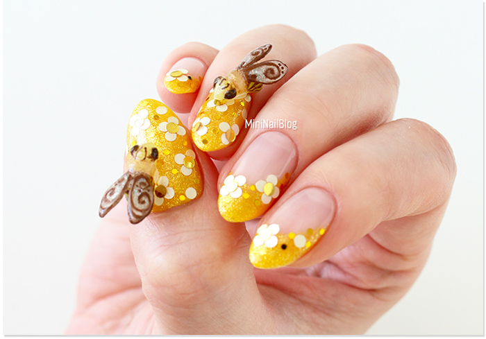 Wearyellowforseth Nail Art Nailbees