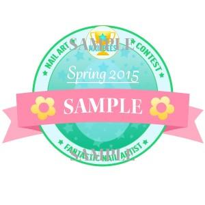 201503 Contest Badge Sample