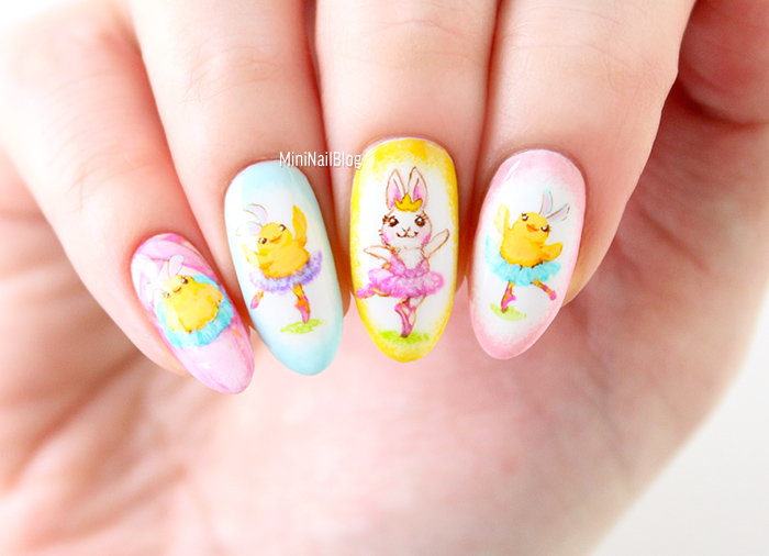 Ballet Animal Nails
