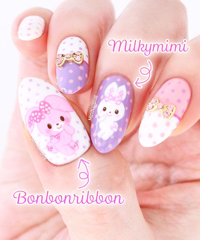 Bonbonribbon Milkymimi Nail Art