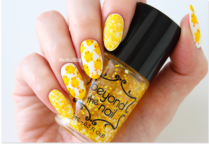 Chick Nail Art Design