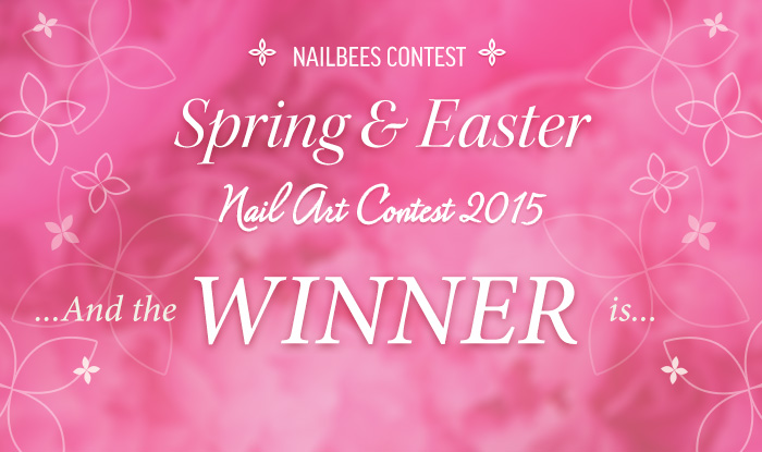Spring Nail Art Contest 2015 Winner