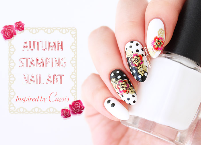Autumn Stamping Nail Art