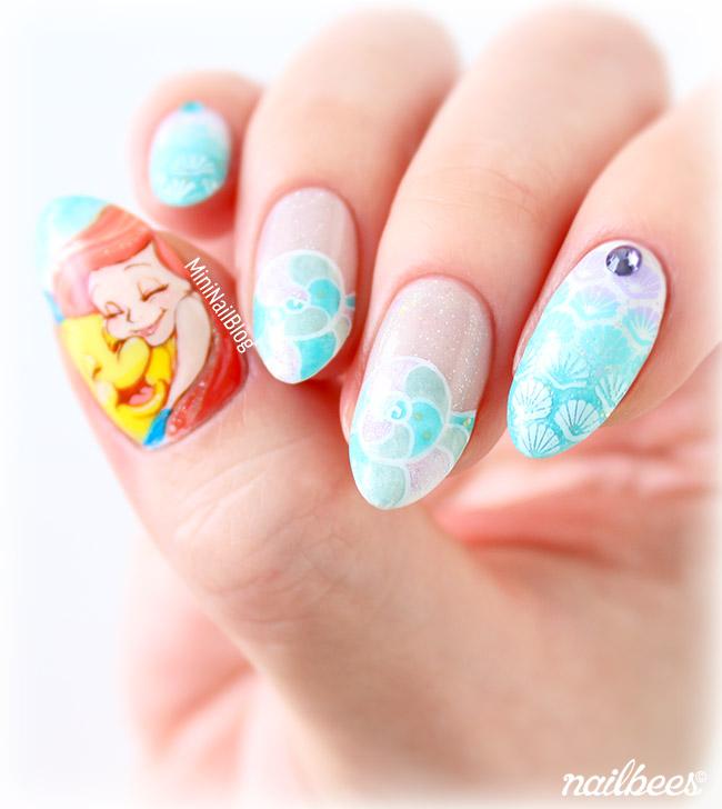 Mermaid Ariel Nails