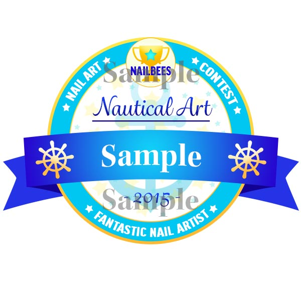 Nail Art Contest Badge 201506
