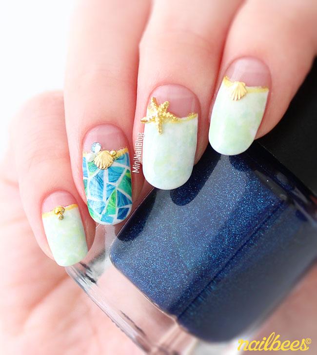 Tile Nail Art