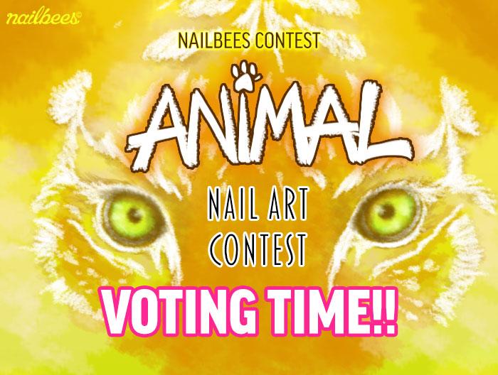 Animal Nail Art Contest 2015 Voting