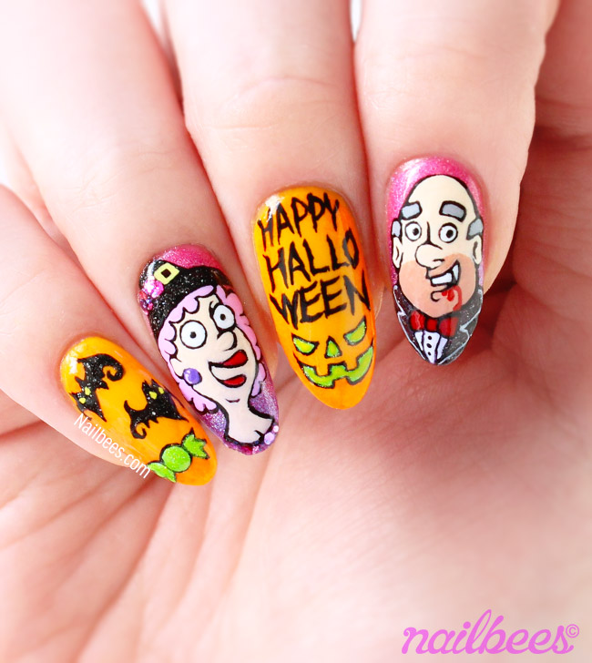 Aunty Acid Halloween Nails