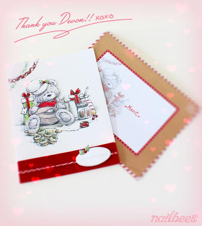 Bundle Monster Christmas Card