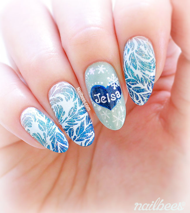 Frost Nail Art