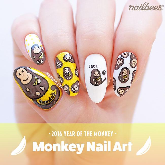 Monkey Nail Art