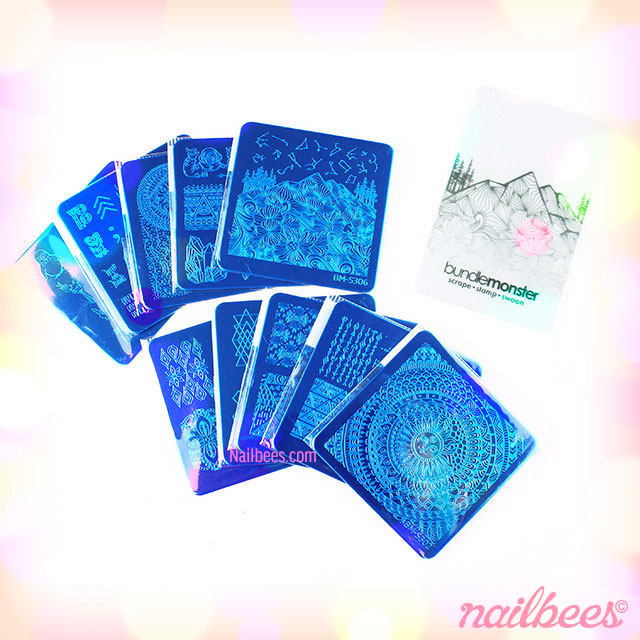 Bundle Monster Festival Collection Stamping Plates