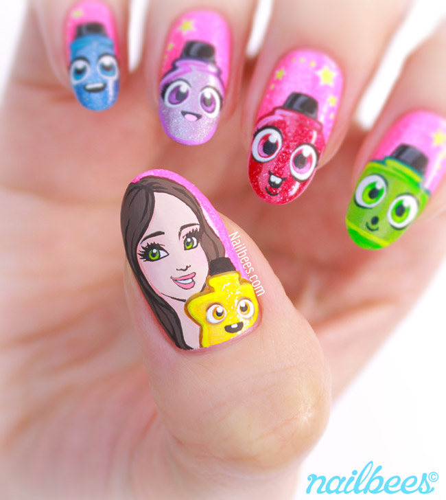 Cute Polish Sandi Nail Art