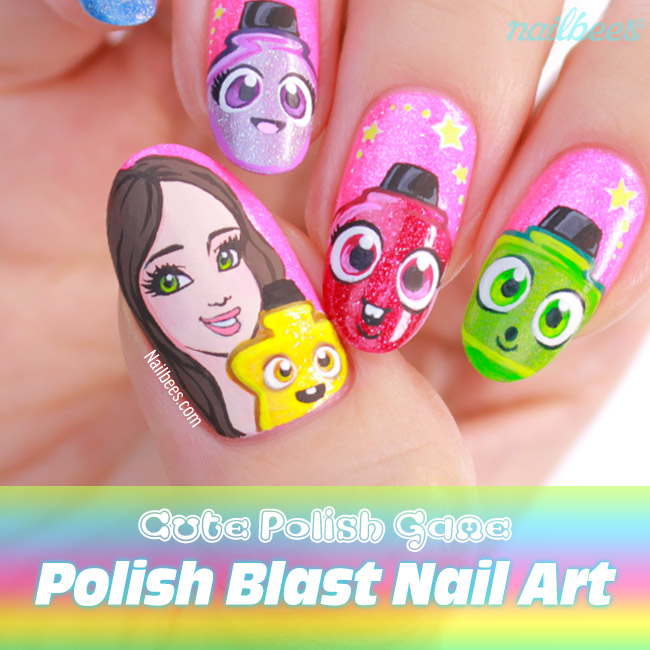 Polish Blast Nail Art