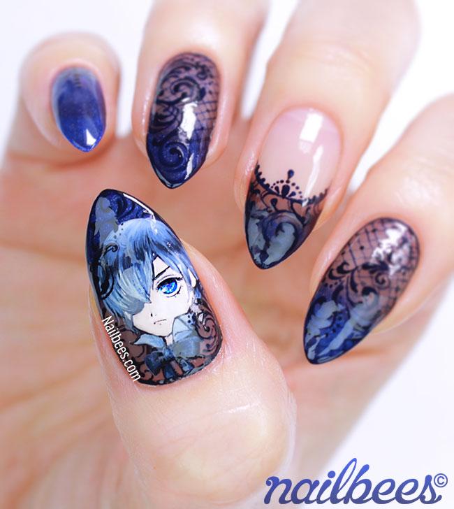 Kuroshitsuji Nail Art