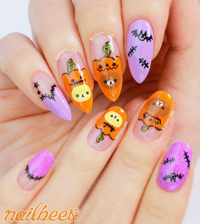 Rilakkuma Nails Halloween