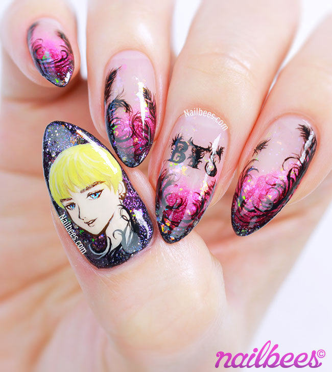 BTS Nail Art Design