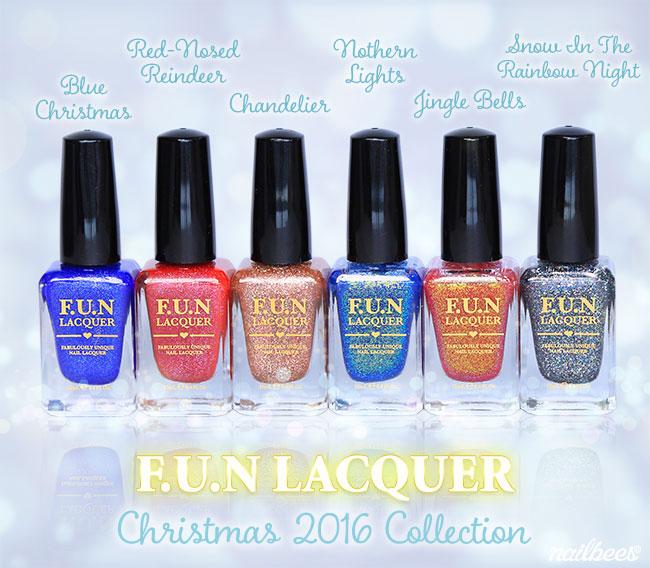 FUN Lacquer Christmas 2016 Collection 2