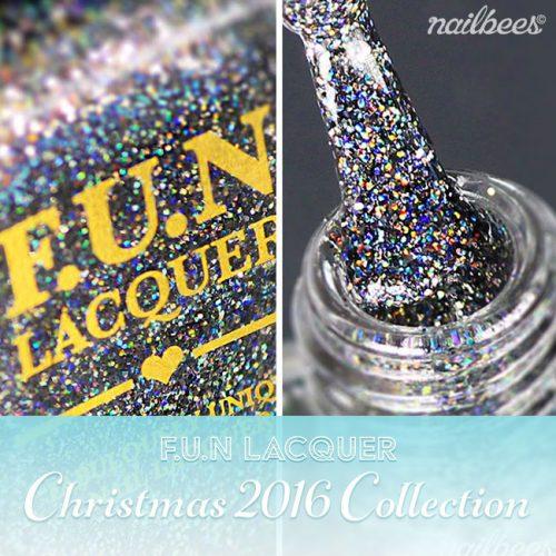 FUN Lacquer Christmas 2016 Collection