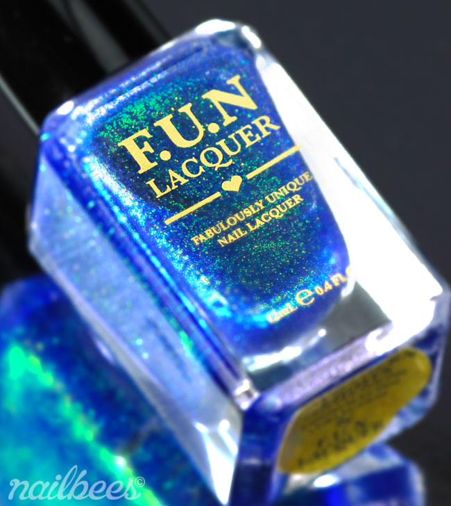 FUN Lacquer Northern Lights Bottle