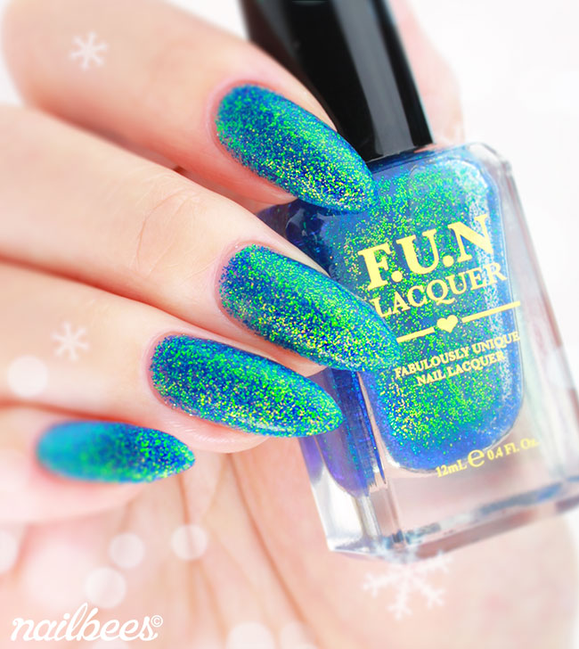 FUN Lacquer Northern Lights Swatch