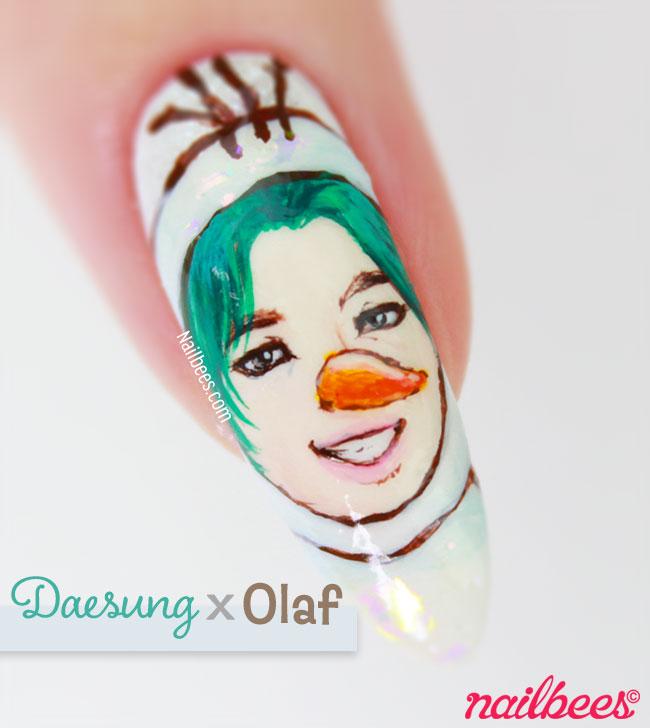 BIGBANG Daesung Nail Art