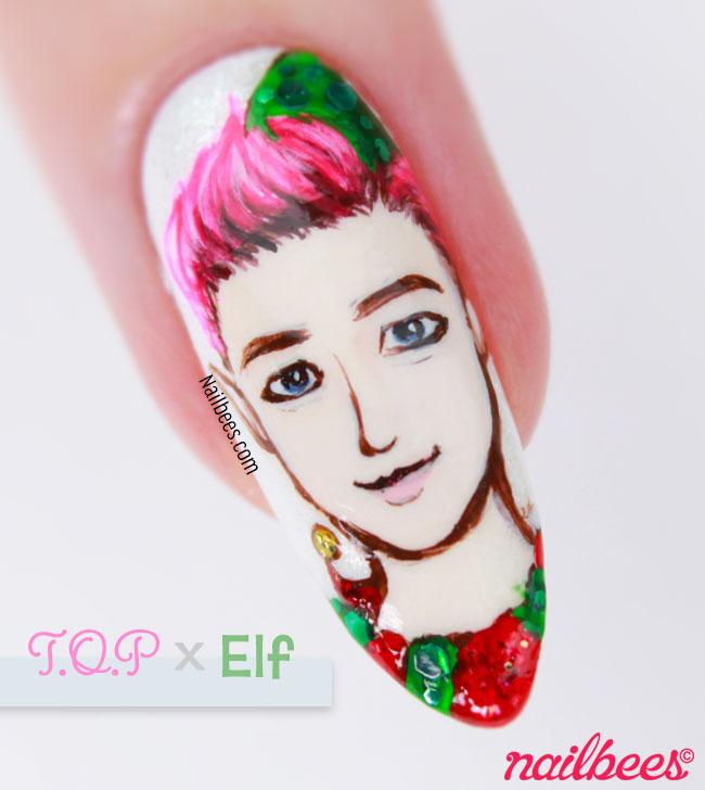 BIGBANG TOP Nail Art