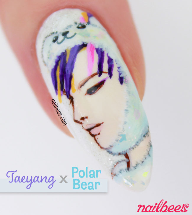 BIGBANG Taeyang Nail Art