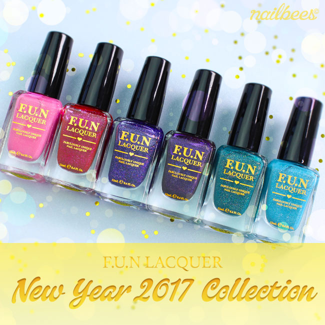 FUN Lacquer New Year 2017 Collection | nailbees