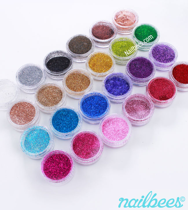 Banggood 24 Glitter Set