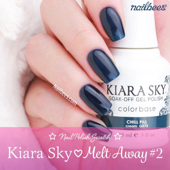Kiara Sky Melt Away Gel Polish Collection Swatches