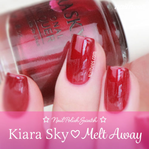 Kiara Sky Melt Away Collection Swatches