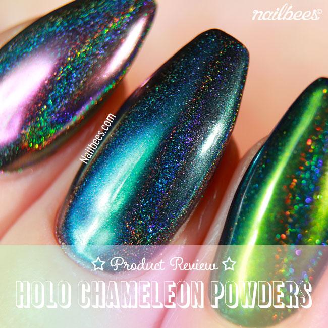 BeautyBigBang HOLO Chameleon Peacock Powders
