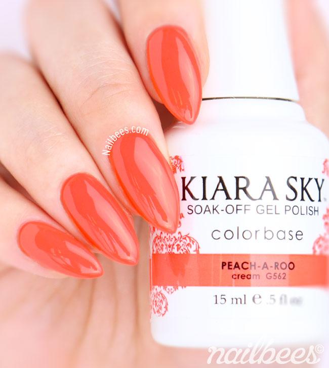 Kiara Sky Peach A Boo
