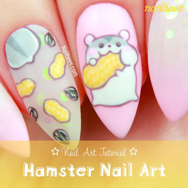 Hamster Nail Art