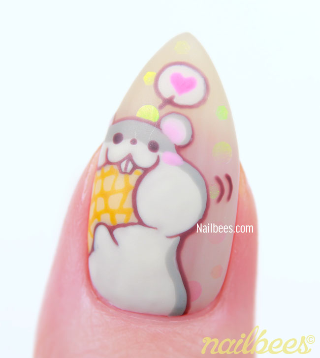 Hamster Nails